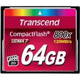 64 GB Transcend Compact Flash TypI 800x Retail