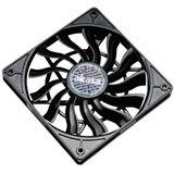 Akasa Slimline 120x120x15mm 600-1600 U/min 30 dB(A) schwarz