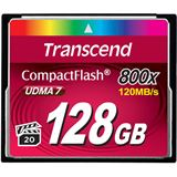 128 GB Transcend TS128GCF800 Compact Flash TypI 800x Retail