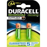 Duracell Ultra HR6 Nickel-Metall-Hydrid AA Mignon Akku 2500 mAh 2er Pack