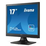 "17"" (43,18cm) iiyama ProLite E1780SD-B1 schwarz 1280x1024 1xDVI"