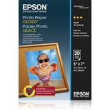 Epson Photo Papier GLOSSY (20) 13x18cm (20 BLATT), Kapazität: 20