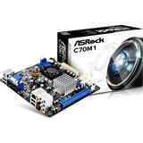 ASRock C70M1 AMD A50M So.BGA Single Channel DDR3 Mini-ITX Retail