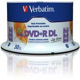 Verbatim DVD+R DL 8.5 GB bedruckbar 50er Spindel (97693)
