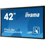 "42"" (106,68cm) iiyama TH4264MIS-B1AG Touch schwarz 1920x1080 1xDP/1xDVI/1xHDMI 1.3/1xVGA/S-Video"
