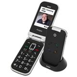 Tiptel Ergophone 6120 schwarz/silber