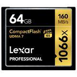 64 GB Lexar Professional Compact Flash TypI 1066x Retail
