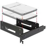 """Delock 18207 PCI Einbaurahmen für 2,5"""" Festplatten/SSDs"""