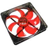 Cooltek Silent Fan 140 red 140x140x25mm 900 U/min 13.9 dB(A)