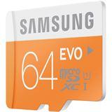 64 GB Samsung EVO microSDXC Class 10 Retail inkl. USB-Adapter