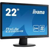"21,5"" (54,61cm) iiyama ProLite E2283HS-B1 schwarz 1920x1080 1xDVI / 1xHDMI 1.3 / 1xVGA"