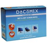 (€0,35*/1Stück) Dacomex Monitore Reinigungstücher 20