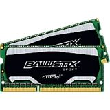8GB Crucial Ballistix DDR3L-1866 SO-DIMM CL10 Dual Kit