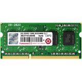 2GB Transcend TS256MSK64V1U DDR3-1066 SO-DIMM CL7 Single