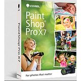Corel PaintShop Pro X7 32/64 Bit Multilingual Grafik Vollversion PC