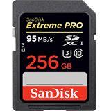 256 GB SanDisk Extreme Pro SDXC Class 10 U3 Retail