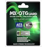 16 GB Mach Xtreme Technology MX-OTGuard silber USB 3.0