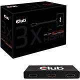 Club 3D SenseVision CSV-5300H 3fach HUB für Displayport