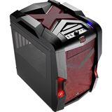 AeroCool Strike-X Cube Red Edition mit Sichtfenster Wuerfel ohne