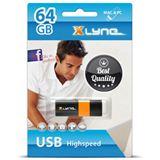 64 GB xlyne Wave schwarz/orange USB 2.0