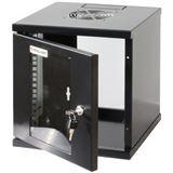 """10"""" (25,40cm) Intellinet Wandverteiler 6HE 300x300mm montiert"""