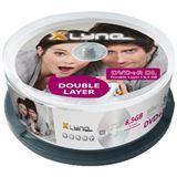 xlyne DVD+R 8.5 GB Double Side 25er Spindel (40250000)