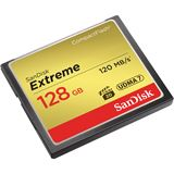 128 GB SanDisk Extreme Compact Flash TypI 800x Retail