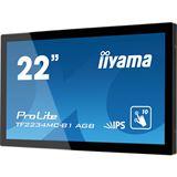 "21,5"" (54,61cm) iiyama ProLite TF2234MC Touch schwarz 1920x1080 1xDVI / 1xVGA"