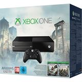 Microsoft Xbox ONE 500GB ohne Kinect Sensor + Assassins Creed: Unity