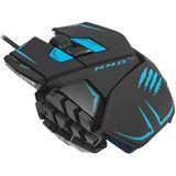 Mad Catz Cyborg M.M.O TE USB schwarz/blau (kabelgebunden)