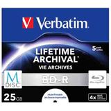 Verbatim BD-R 25 GB 5er Jewelcase (43823)