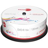 Primeon DVD-R 4.7 GB bedruckbar 25er Spindel (2761205)