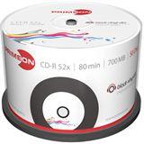 Primeon CD-R 700 MB bedruckbar 50er Spindel (2761107)