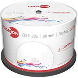 Primeon CD-R 700 MB bedruckbar 50er Spindel (2761105)