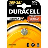 Duracell 362/361 SR58 Silberoxid Knopfzellen Batterie 1.5 V 1er Pack