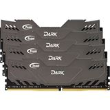 16GB TeamGroup Dark Series grau DDR4-2800 DIMM CL16 Quad Kit