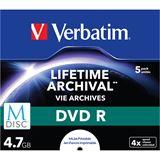 Verbatim M-DISC 4.7 GB bedruckbar 5er Jewelcase (43821)