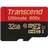32 GB Transcend Ultimate microSDHC Class 10 U1 Retail inkl. Adapter