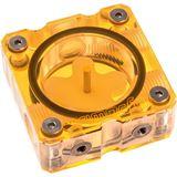 PrimoChill UV orange Flow Indicator für Wasserkühlung