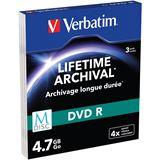 Verbatim M-DISC 4.7 GB 3er Slimcase (43826)
