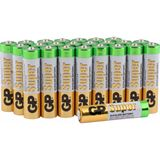 GP Batteries Super LR03 Alkaline AAA Micro Batterie 1.5 V 24er Pack