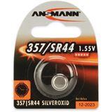 ANSMANN SR44 Silberoxid Knopfzellen Batterie 1.5 V 1er Pack