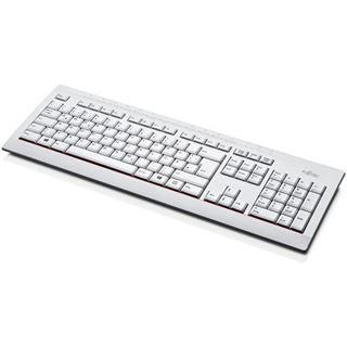 Fujitsu KB521 USB Englisch (US) weiß (kabelgebunden)