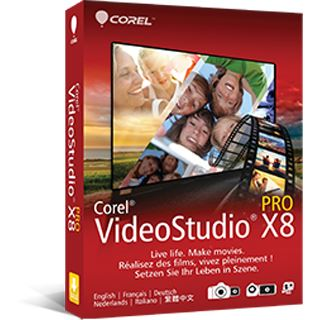 Corel VideoStudio Pro X8 int. Win Media Kit