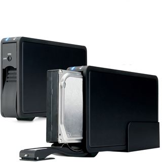 """Fantec ER-35U3-6G 3.5"""" (8,89cm) USB 3.0 schwarz"""