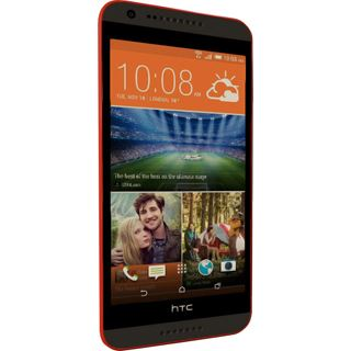 HTC Desire 620 8 GB grau/orange