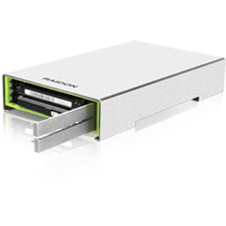 """Raidon GR2660-B3 2.5"""" (6,35cm) USB 3. silber/grün"""