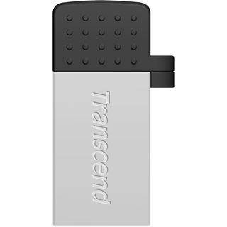 64 GB Transcend JetFlash 380 silber USB 2.0
