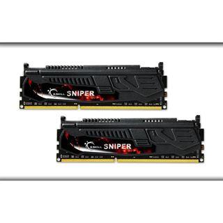 8GB G.Skill SNIPER DDR3-1600 DIMM CL9 Dual Kit