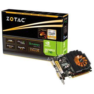 4GB ZOTAC GeForce GT 730 Synergy Edition Aktiv PCIe 2.0 x16 (Retail)